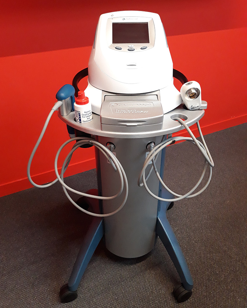 Shockwave therapy machine at In Good Hands